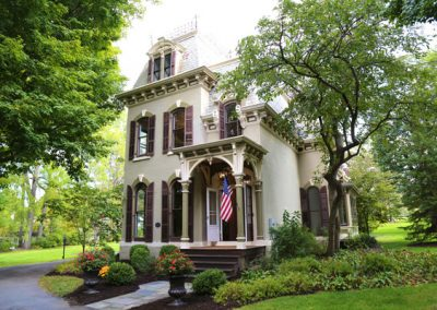 "Fairport, NY, Victorian ""Painted Lady"" by village center"