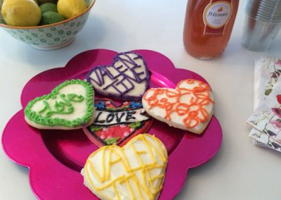 When a new listing coincides with a holiday, themed treats are in order.