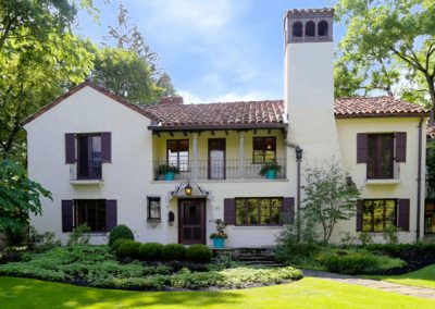 photo of Mediterranean style home in Houston Barnard neighborhood