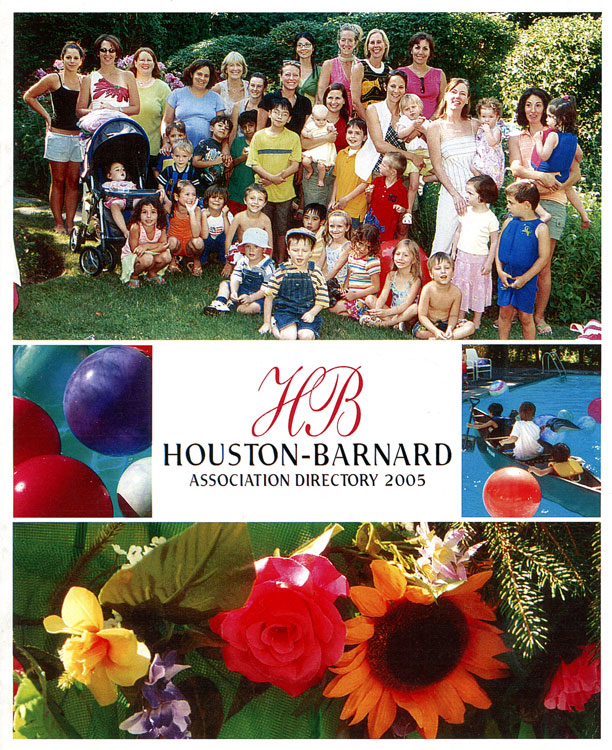Houston Barnard Neighborhood Directory 2005 cover image