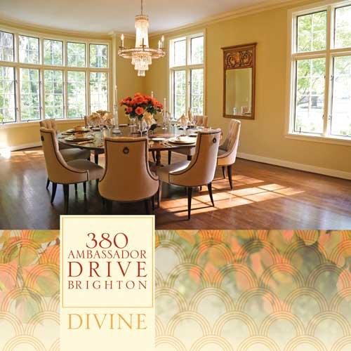380 Ambassador Drive brochure cover