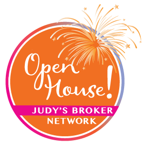 Judy's Broker Network Open House graphic
