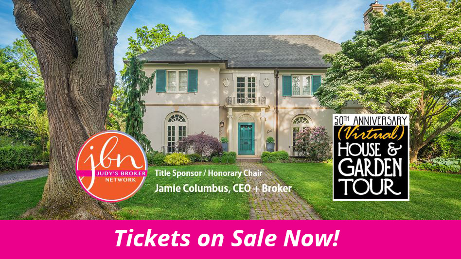 Landmark Society of Rochester 50th Anniversary Virtual House & Garden Tour graphic